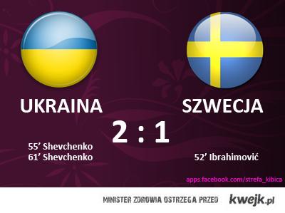 Mecz Ukraina Szwecja