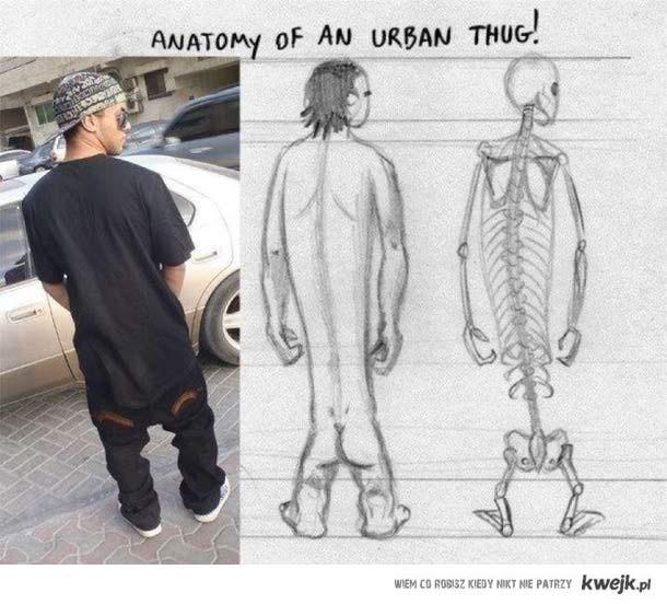 Urban thug.