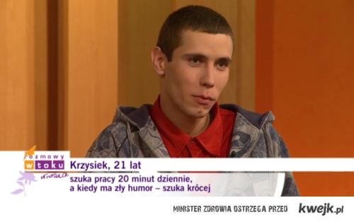 Krzysiek, 21 lat