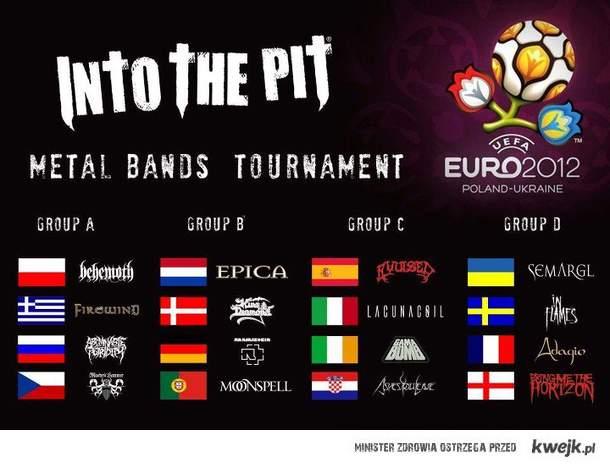 Metal bands euro 2012