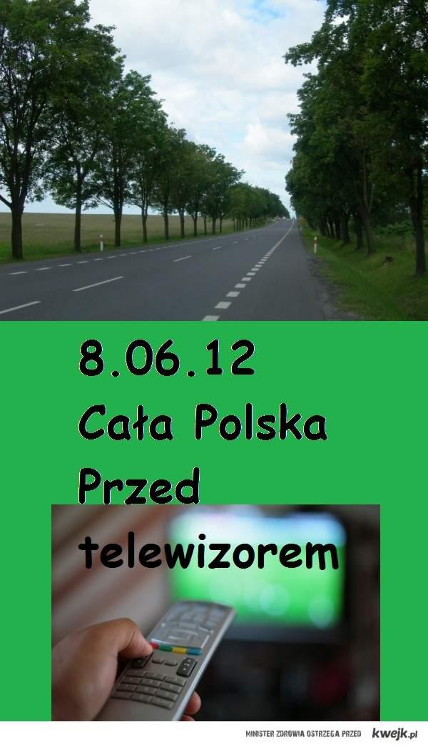 Cała polska przed telewizorem