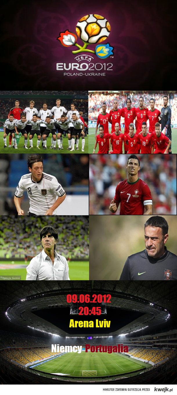 Euro 2012 Niemcy-Portugalia