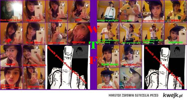 dumb poses boys and girls make