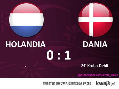 Mecz Holandia - Dania