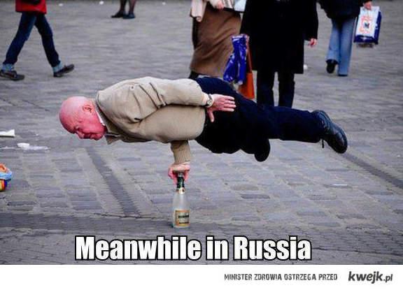 W międzyczasie w Rosji