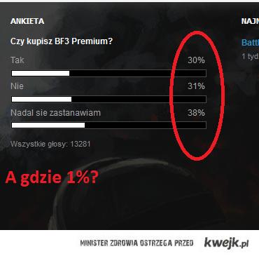 Battlefield 3 - 1%