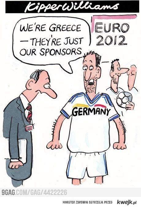 Niemcy siłą Greków