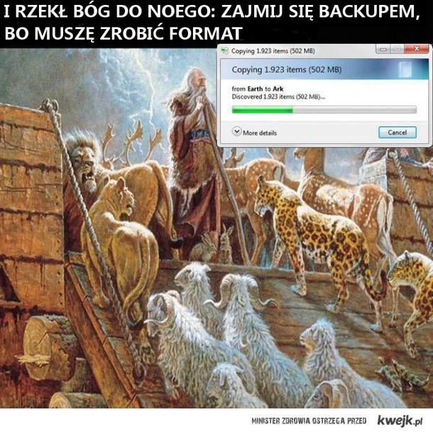 Arka Noego - historia prawdziwa