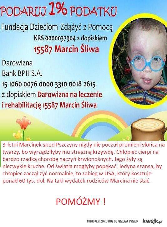 Pomoc dla Marcinka !