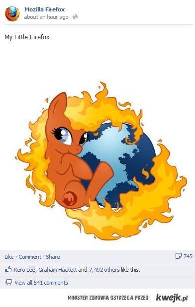 My Little Firefox