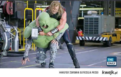 Thor vs Hulk w rzeczywistosci