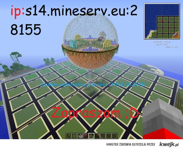 Serwer Minecraft (freebuilid)