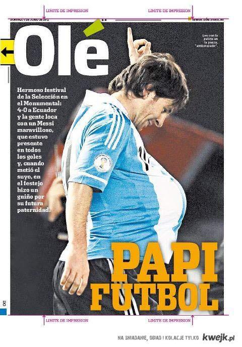 Leo Messi ojcem