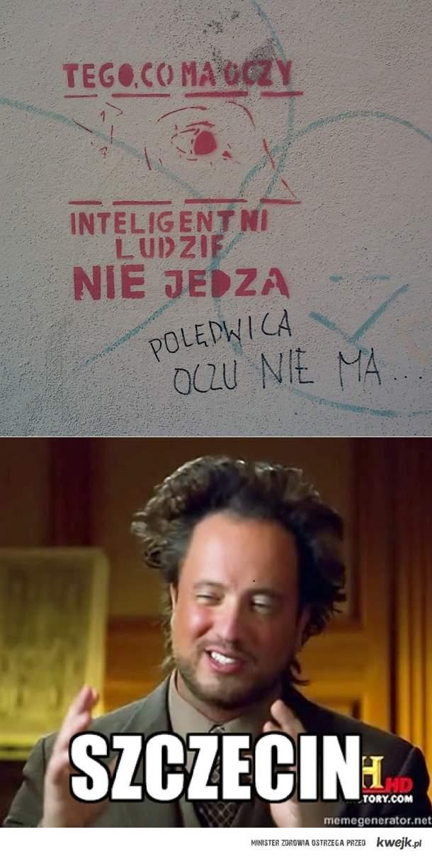 Szczecin - miasto ciętej riposty