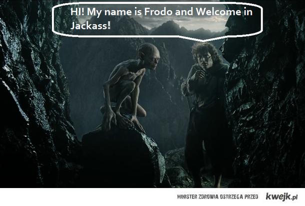 Frodo i Jackass