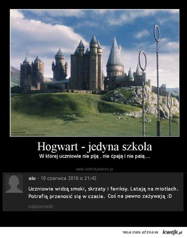 Hogwart i jego dyscyplina