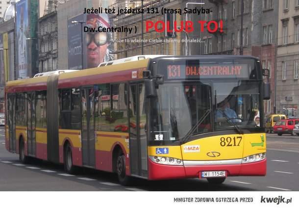 autobus 131 Warszawa