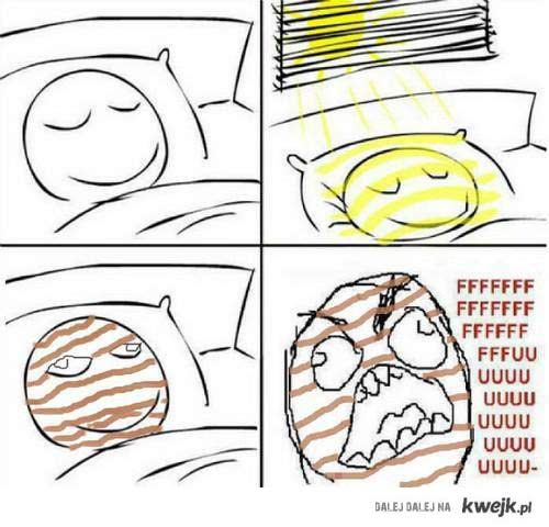 Słońce z rana