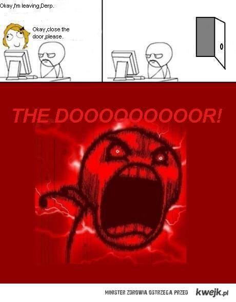 the dooooooor!