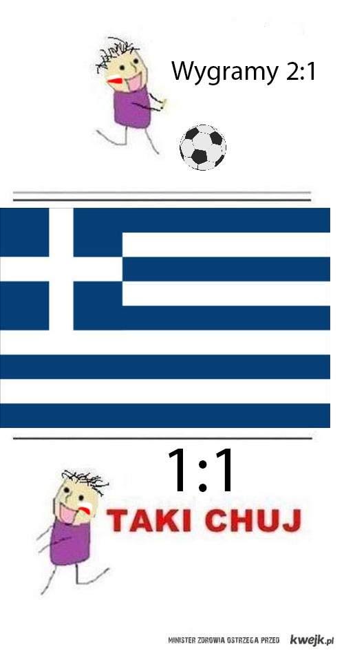 Polska vs Grecja 1:1