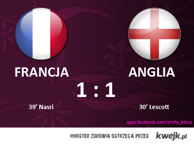 Mecz Francja Anglia