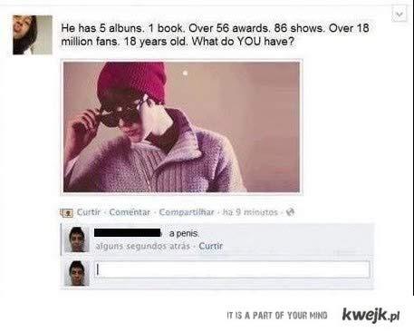 być lepszym od Biebera
