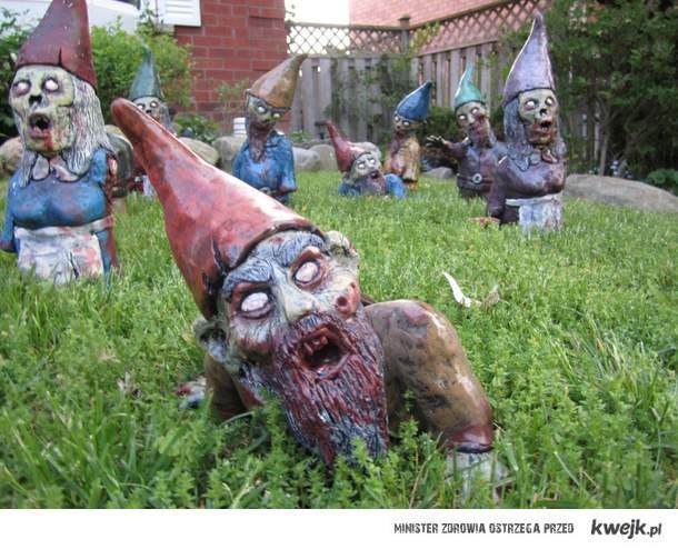 zombie krasnale