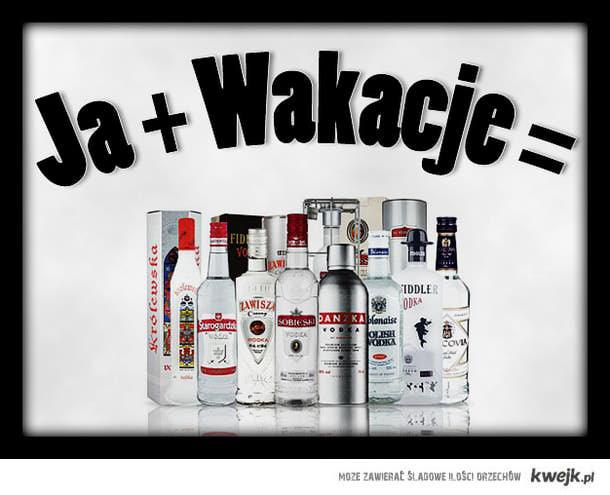 Ja + Wakacje =
