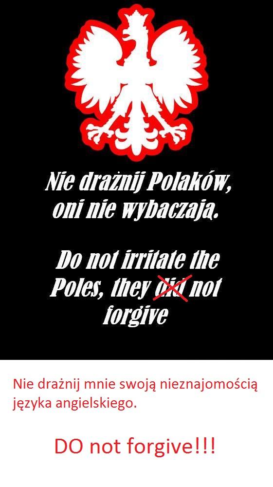 Polacy, uczcie się języków obcych :x