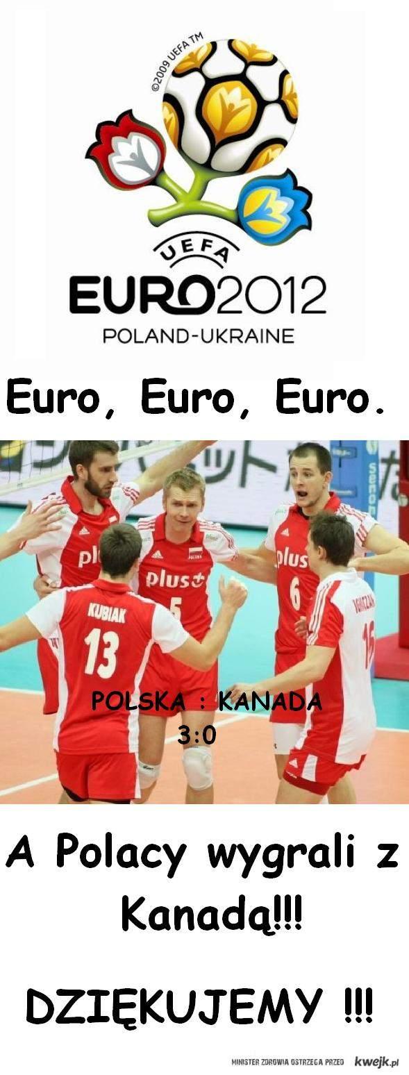 Siatkówka a Euro!