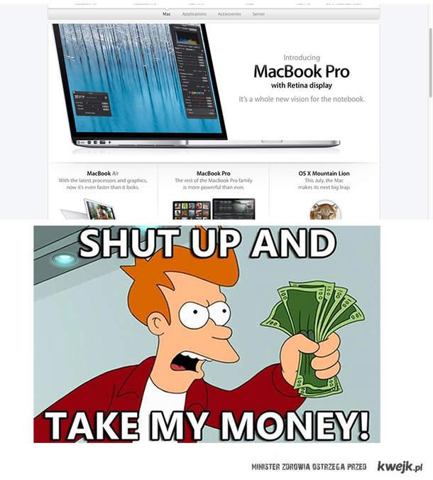 New Mac Retina Display