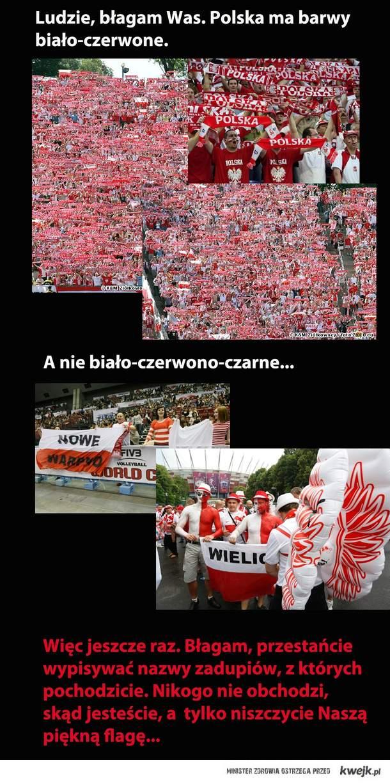 Nasze polskie barwy szczęścia.
