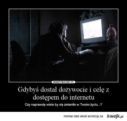 Dożywocie i internet