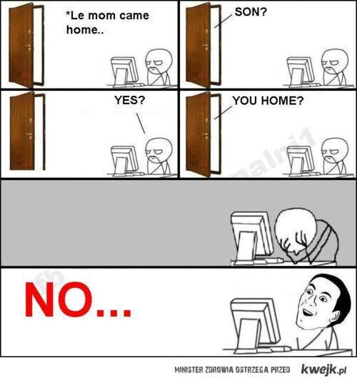 u home!?