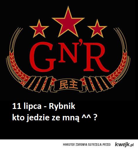 koncert guns n roses w polsce !