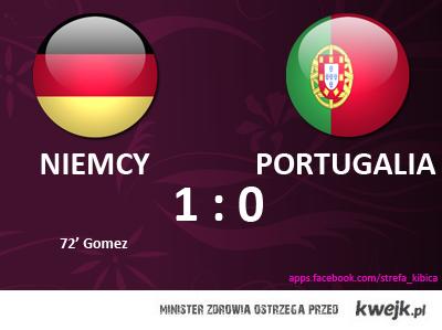 Mecz Niemcy - Portugalia