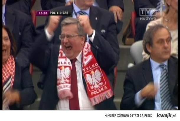 Komorowski euro 2012