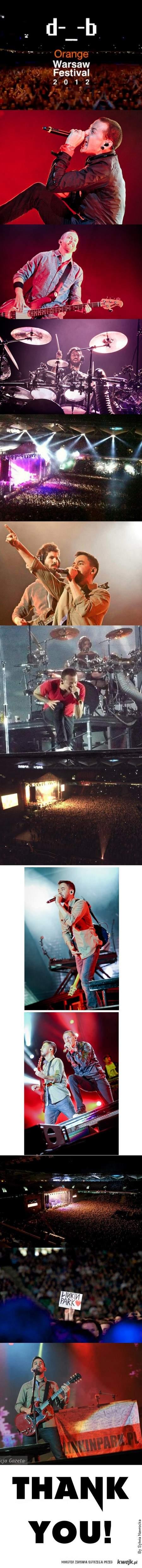 Linkin Park Pepsi Arena 2012