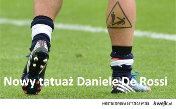 Daniele De Rossi ma nowy tatuaż