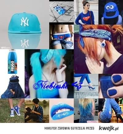 niebieski < 3