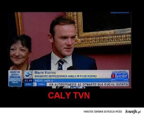 Rooney i TVN xD