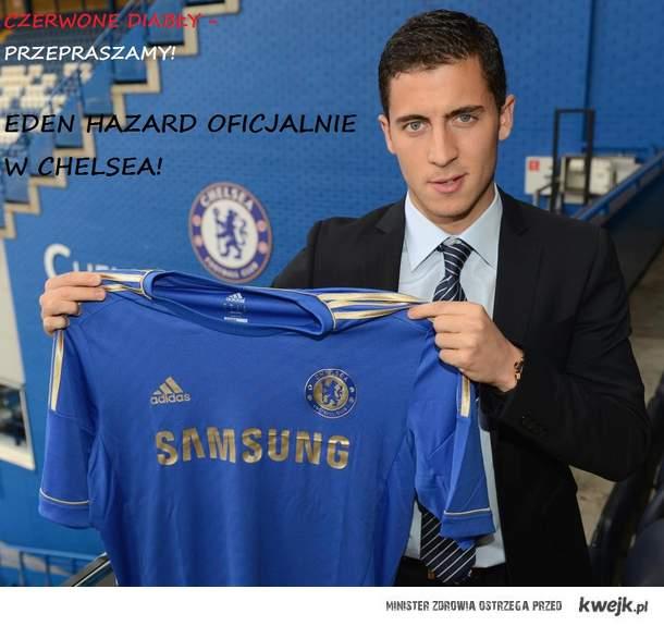 Eden Hazard w Chelsea