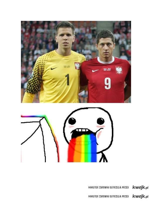 Szczęsny & Lewandowski <3