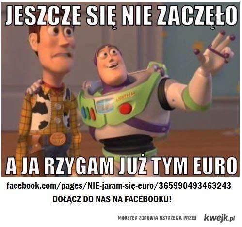 nie jaram się euro
