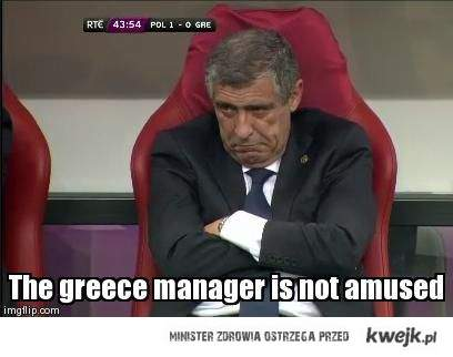 the greece manager