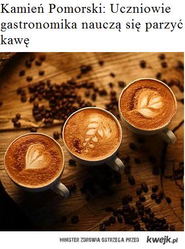 Parzenie kawy