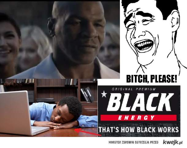 that's how black works
