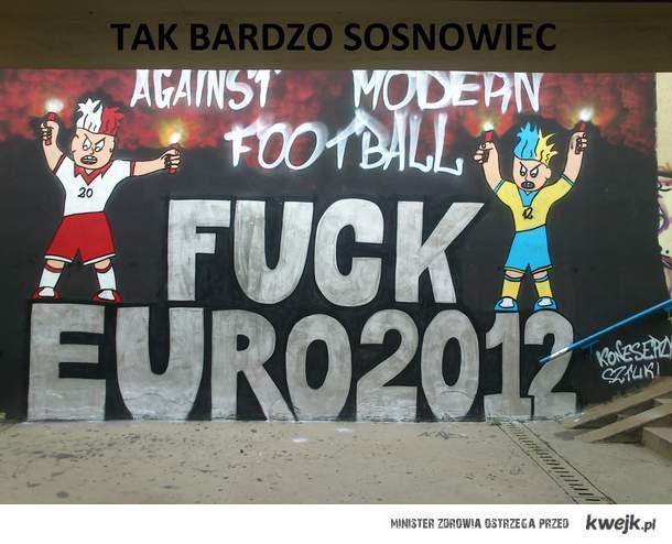 Sosnowieccy kibice reprezentacji polski
