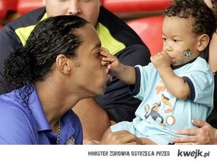 Ronaldinho z synem