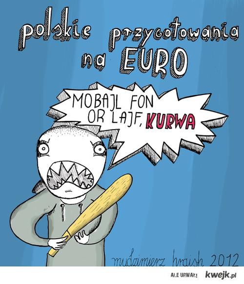 przygotowanie Polaków na Euro 2012